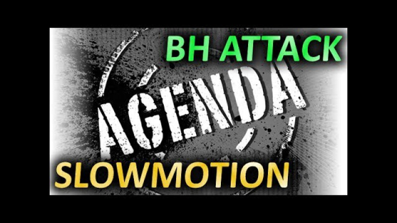 SPINLORD Agenda OX BH attack technique Slowmotion Техника атаки длинными шипами