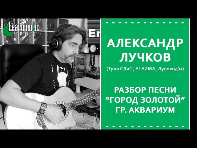 Как играть Город Золотой - Аквариум | Разбор на гитаре