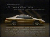 Chrysler Concorde LX LXI Commercial (1999)