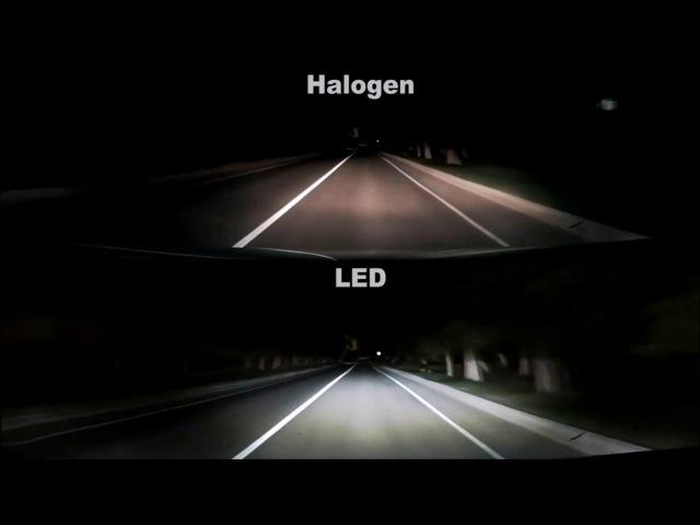 Светодиодные лампы 4Drive отзывы и сравнение с галогеновыми