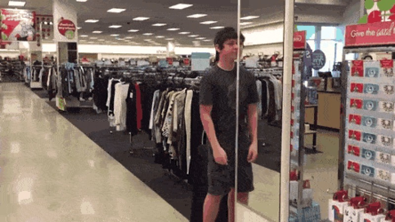 When youre bored in the store - Create, Discover and Share GIFs on Gfycat
