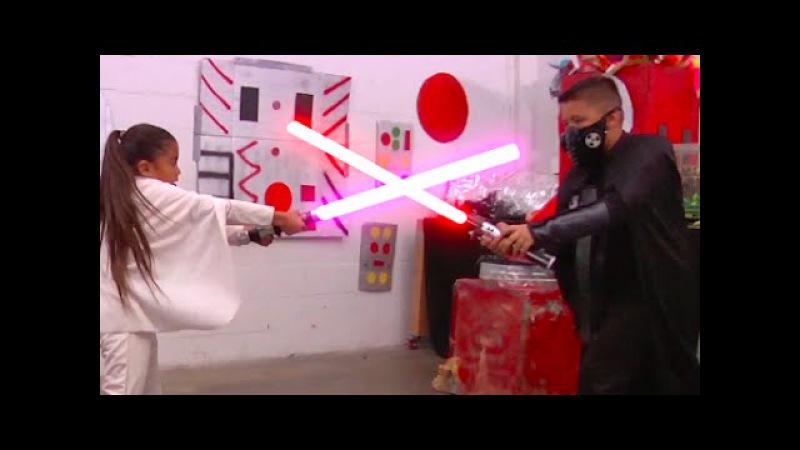 The Littlest Jedi Webisode Five STAR WARS KID MOVIE