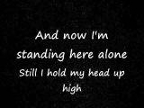In This Moment- Standing Alone (Lyrics)