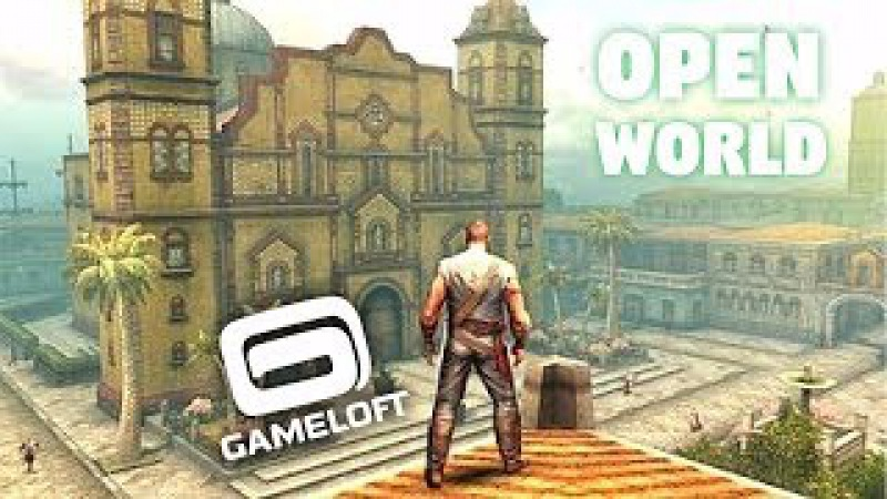 Top 10 OPEN WORLD GAMES by Gameloft for Android [GameZone]