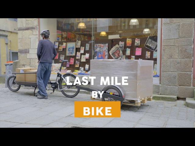 BicyLift, solutions pour la logistique urbaine décarbonée
