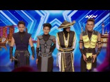 ADEM Dance Crews Golden Buzzer Audition Asias Got Talent 2017
