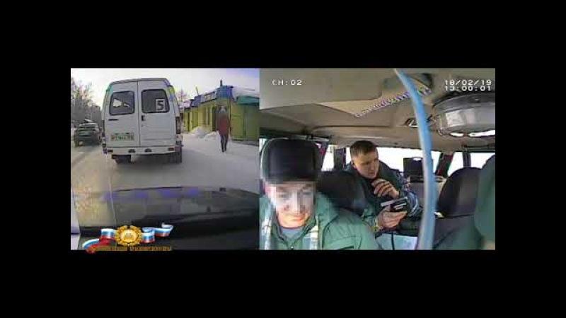 В Уяре задержан пьяный водитель автобуса