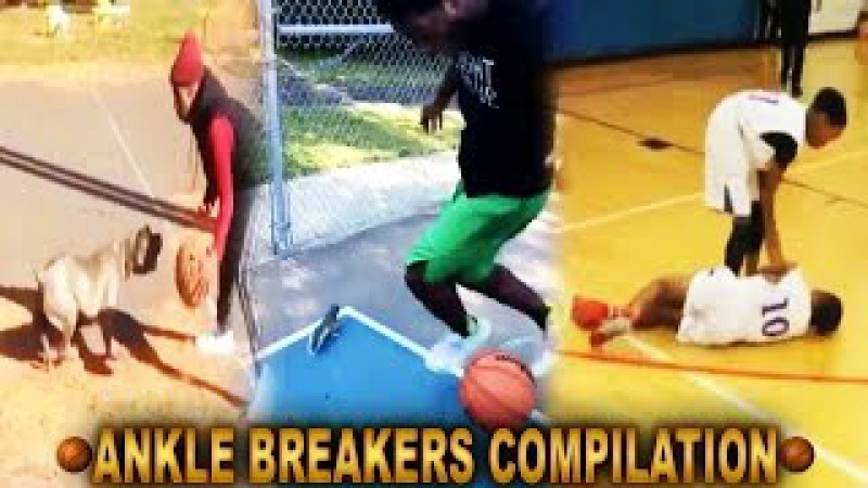 Crazy Basketball Crossovers Ankle Breakers Compilation