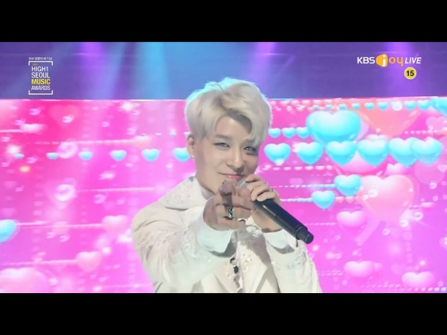 SECHSKIES '세단어 THREE WORDS ' '커플 COUPLE ' in 2017 Seoul Music Awards