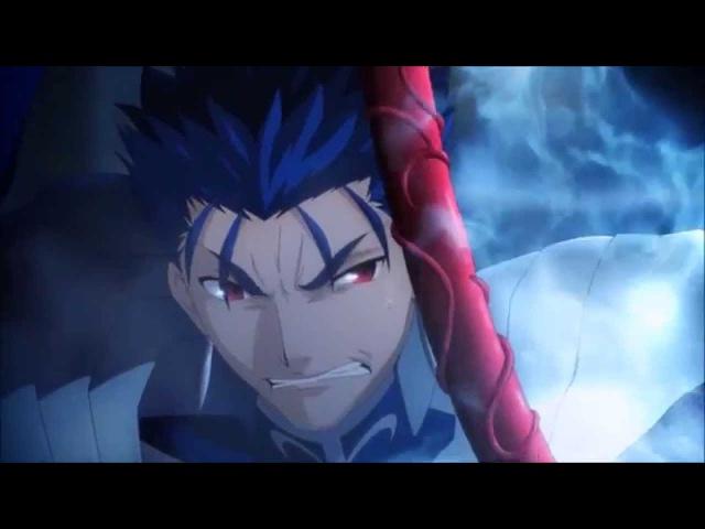 Lancer vs. Saber Fight [HD] Fate/Stay Night UBW (2014)