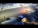 Сбил пешехода, Социалистическая-Пугачев. 26.12.2017 #Бийск