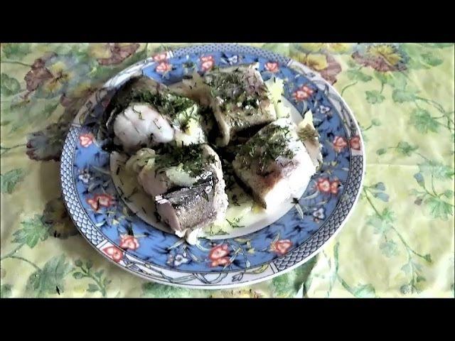 МИНТАЙ рыба в сковороде за 5 минут. Отличное блюдо для детей, гипертоников и омоложения. ОМЕГА 3 и 6