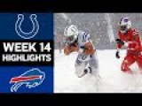 Colts vs. Bills  NFL Week 14 Game Highlights