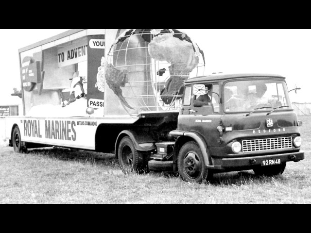 Bedford TK FAGA Articulated Tractor Unit 1961 67