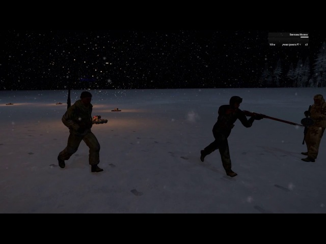 ARMA3, RedBear Iron Front, Диверсия