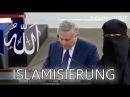 EU Parlament Die Zukunft der EU wird islamisch sein Marcel de Graaff