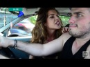 Romanian ballbusting grab squeeze taxi driver balls