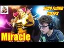 Miracle Invoker as good as god MMR pro replays Dota 2 Top