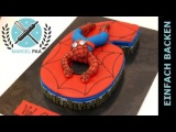 ( https://vk.com/lakomkavk) coole Spiderman Zahlen Torte zum selber machen I Einfach Backen - Marcel Paa