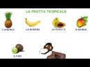 LA FRUTTA lessico italiano