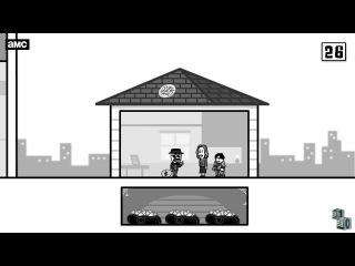 Анимационный трибьют к 10-летию выхода сериала Во все тяжкие NR