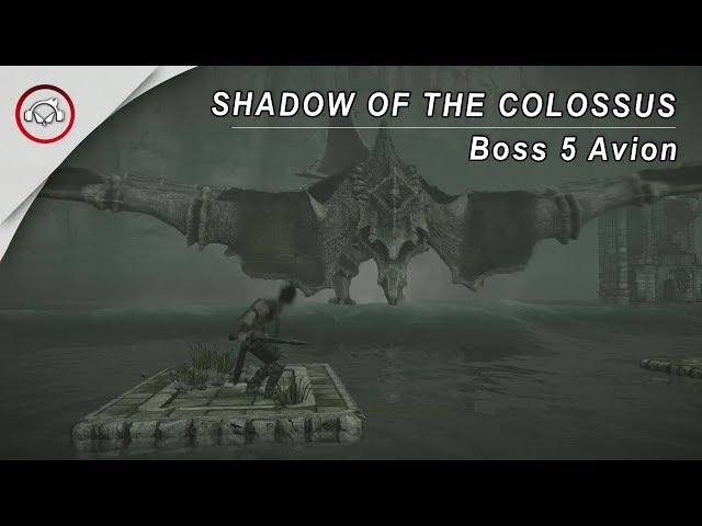 SHADOW OF THE COLOSSUS - BOSS 5 AVION @1080p (30ᶠᵖˢ) FULL HD ✔ PT-BR
