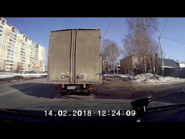 Авария в нижнем новгороде на южном шоссе 14 02 2018 ДТП