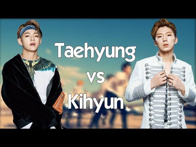 V (BTS) vs Kihyun (Monsta X) - BATTLE 2018 🔥