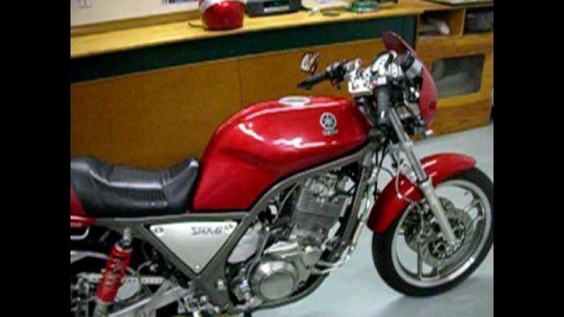 1986 Yamaha SRX 600 Super Single