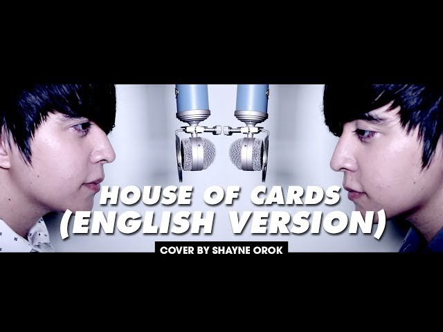 BTS (방탄소년단) - 'House of Cards' (Acoustic English Cover) by Shayne Orok