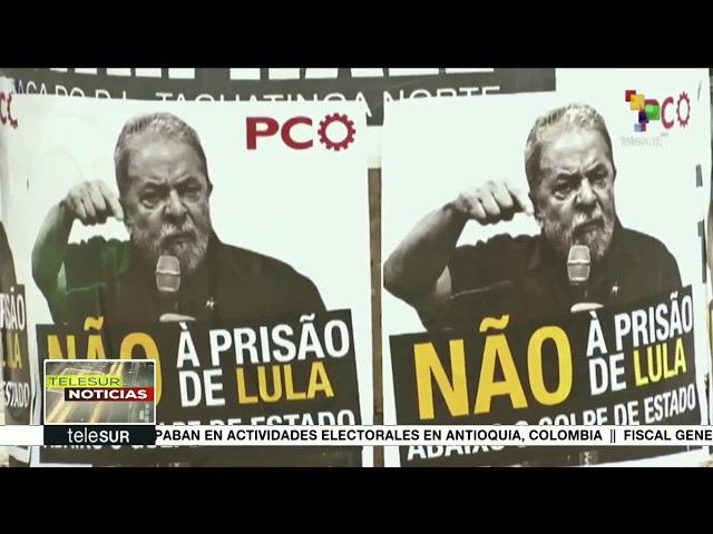 BRASIL juristas denunciam anomalias no processo judicial contra o ex Presidente LULA
