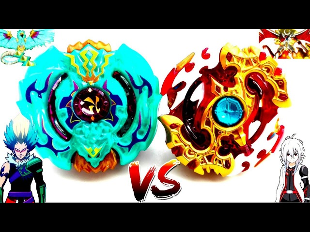 Spriggan Requiem .0.Zt VS Beat Kukulcan .7U.Hn - Red Shu vs Kurz - Beyblade Burst God Evolution! 神
