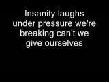 Queen - Under Pressure (Lyrics)