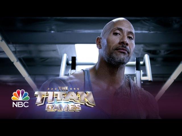 Промо-ролик реалити-шоу Titan Games с Дуэйном Джонсоном
