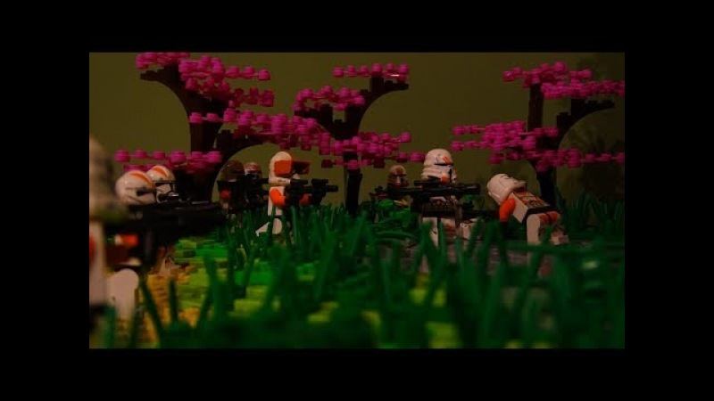 ЛЕГО Звездные войны Захват Республиканского ангара Новая самоделка от legowarmu va