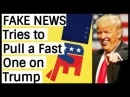 Alex Jones: 'FAKE-NEW$' Tries to Pu|| a Fast 0ne on Trump