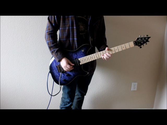 Skillet - Imperfection - Guitar cover (With solo)