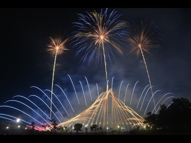 2017南州聯合炮贊第四場音樂煙火 - 喜迎尊王Taiwan Nanzhou Fireworks show(花火)