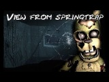[FNAF/SFM] FNAF 6 Springtrap Office Jumpscare - view from animatronic