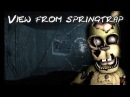 FNAF/SFM FNAF 6 Springtrap Office Jumpscare - view from animatronic