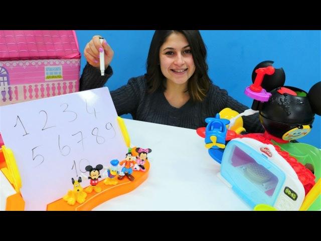 Ayşenin oyuncak kreşi - Mickey Fare ve Minnie Mouse!
