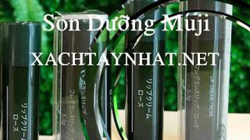 Đại lý son dưỡng Muji chính hãng tại Tân Phú, HCM