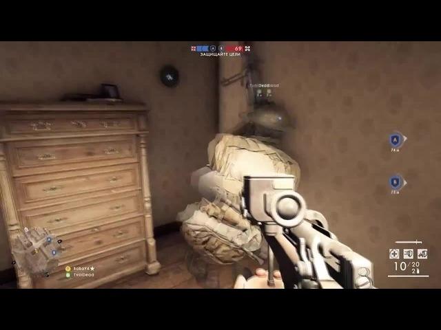 Приколы в Battlefield 1 (Full версия на youtube) coub