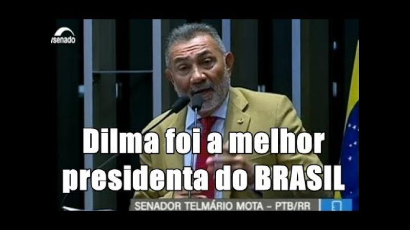 Senador pede desculpas públicas à Dilma por ter colocado uma quadrilha no governo