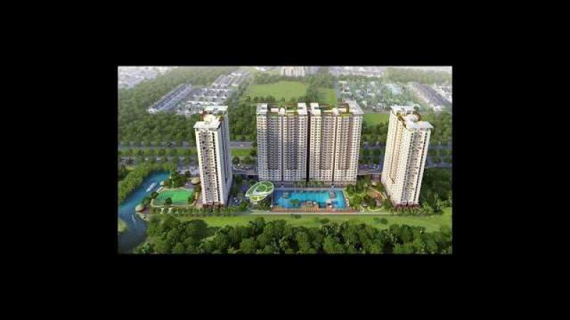 Cho thuê căn hộ The Park Residence 62m2 full nội thất 12 triệu tháng