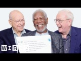 Morgan Freeman, Michael Caine, and Alan Arkin Answer the Web's Most Searched Questions WIRED