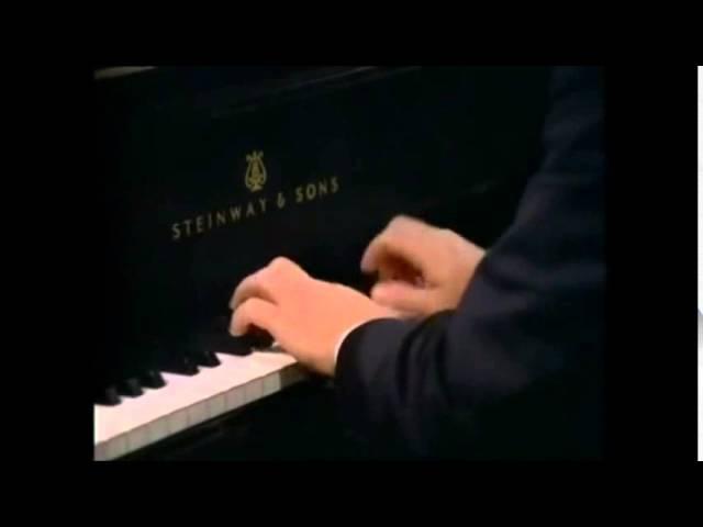 Emil Gilels, Mendelssohn-Bartholdy Spinnerlied from Lieder ohne Worte Op.67,4