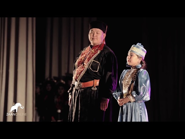 Лиджи Горяев и Диана Ловысова - Зальврhн (cover C.Жавхлан) на Канале ZaanOnline