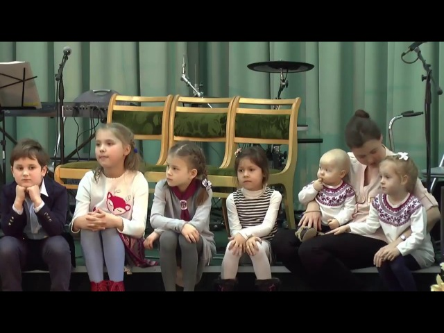 2018.02.17 Детям про заповеди Божии