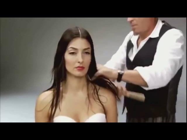Голливудская стрижка с каскадом на длинные волосы / Красивая стрижка на длинные ...
